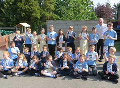 Broad Oak Primary School launches Welly Walk