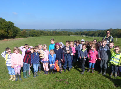 pupils BroadOak wellywalk