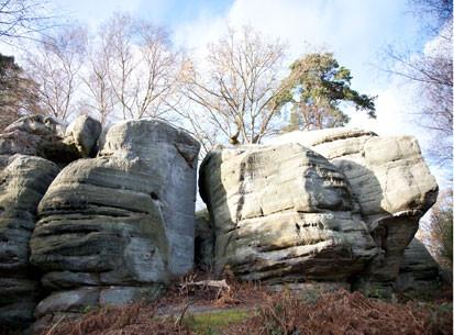 sandstone outcrop eridge rocks