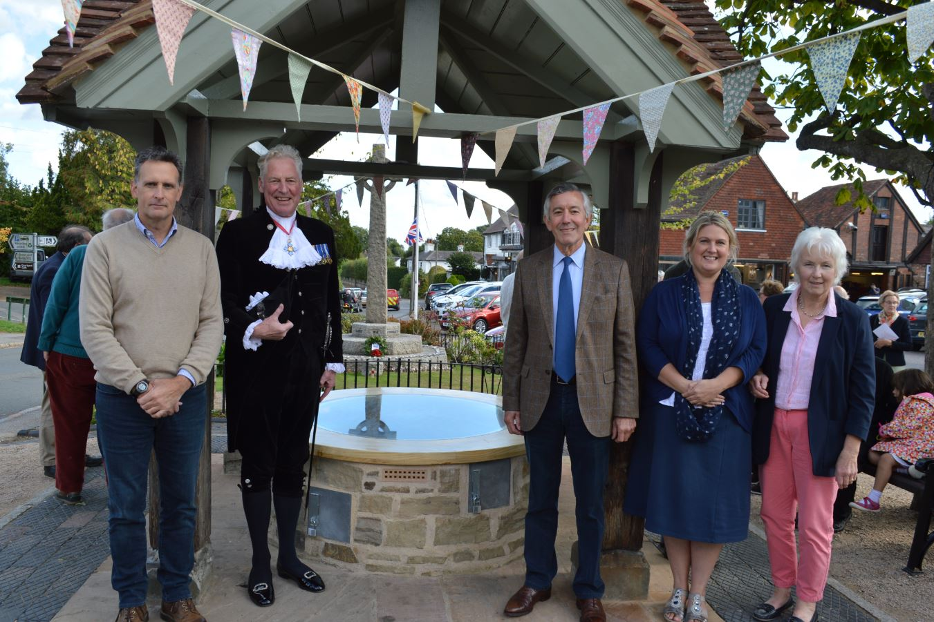 Ticehurst village celebrates Sussex Lund-funded restoration project
