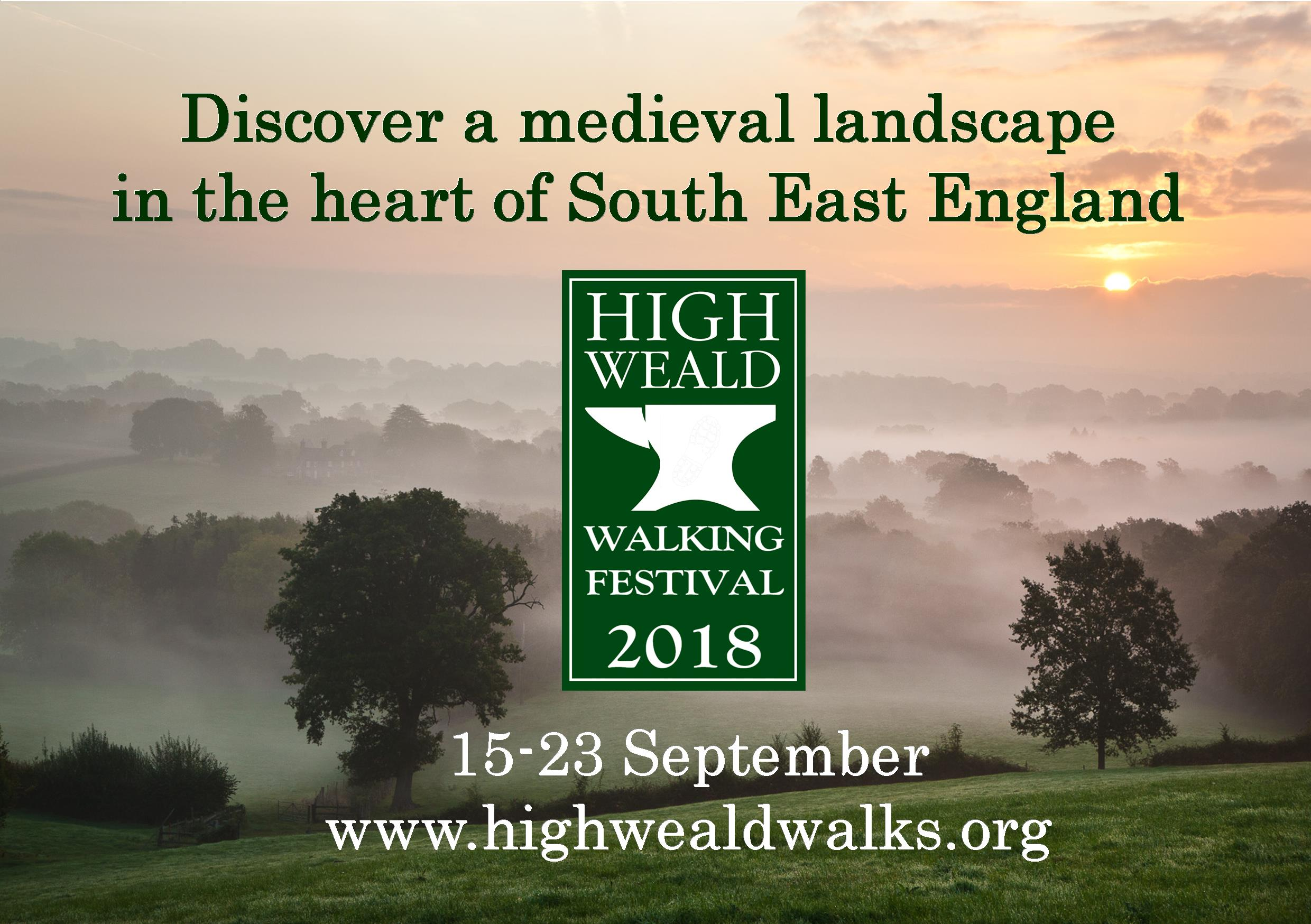 Walking Festival to showcase High Weald landscape
