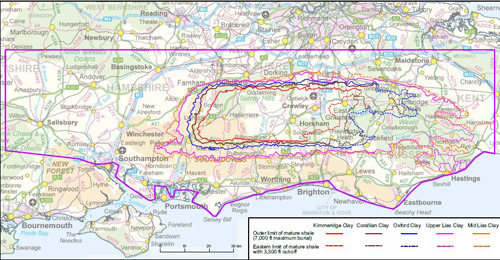 Unconventional hydrocarbon resources of the Weald