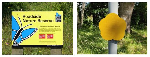 wildlife verge signs kent eastsussex