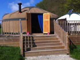 Little Halden Farm yurt