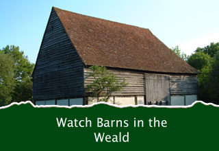 Barns in the High Weald