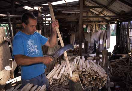 woodland_worker_making_paling