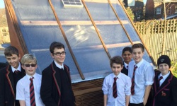 School builds solar kiln for drying local timber